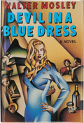 Books:Signed Editions, Walter Mosley. Devil in a Blue Dress. New York London: W. W.Norton & Company, [1990]. First edition. Signed by th...