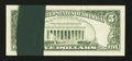 Error Notes:Ink Smears, Fr. 1980-D $5 1988A Federal Reserve Note. Very Fine+.. ...