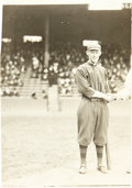 Baseball Collectibles:Photos, 1914 Johnny Evers World Series Photograph by George Bain....
