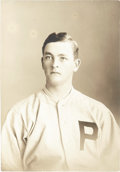 Baseball Collectibles:Photos, 1908 George McQuillan Photography by Carl Horner--His E145-2Portrait....