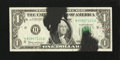 Error Notes:Ink Smears, Fr. 1901-H $1 1963A Federal Reserve Note. Fine-Very Fine.. ...