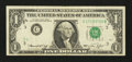 Error Notes:Obstruction Errors, Fr. 1908-C $1 1974 Federal Reserve Note. Very Fine.. ...