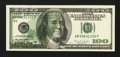 Error Notes:Offsets, Fr. 2175-B $100 1996 Federal Reserve Note. Extremely Fine.. ...