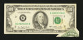Error Notes:Foldovers, Fr. 2168-B $100 1977 Federal Reserve Note. Very Fine.. ...
