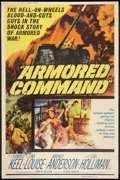 "Movie Posters:War, Armored Command (Allied Artists, 1961). Poster (40"" X 60""). War....."