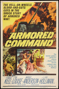 "Armored Command (Allied Artists, 1961). Poster (40"" X 60""). War"