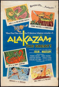 "Movie Posters:Animated, Alakazam the Great (American International, 1960). Poster (40"" X60""). Animated.. ..."