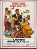 """Movie Posters:James Bond, The Man With the Golden Gun (United Artists, 1974). French Grande (47"""" X 63""""). James Bond.. ..."""