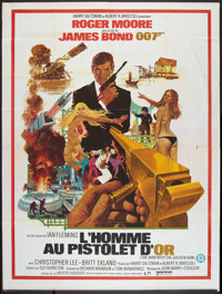 "The Man with the Golden Gun (United Artists, 1974). French Grande (47"" X 63""). James Bond"
