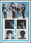 """Movie Posters:Rock and Roll, Let It Be (United Artists, R-1970s). Italian 2 - Foglio (39"""" X55""""). Rock and Roll.. ..."""