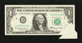 Error Notes:Attached Tabs, Fr. 1901-D $1 1963A Federal Reserve Note. Extremely Fine.. ...