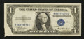 Error Notes:Foldovers, Fr. 1608 $1 1935A Silver Certificate. Very Fine+.. ...