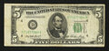 Error Notes:Skewed Reverse Printing, Fr. 1962-D $5 1950A Federal Reserve Note. Fine.. ...