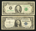 Error Notes:Blank Reverse (<100%), Fr. 1619 $1 1957 Silver Certificate. Fine. Fr. 2172-B $100 1988Federal Reserve Note. VF.. ... (Total: 2 notes)