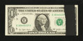 Error Notes:Ink Smears, Fr. 1909-E $1 1977 Federal Reserve Note. Very Fine.. ...