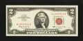 Error Notes:Ink Smears, Fr. 1513 $2 1963 Legal Tender Note. Very Fine-Extremely Fine.. ...