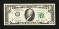 Error Notes:Obstruction Errors, Fr. 2020-H $10 1969B Federal Reserve Note. Very Choice CrispUncirculated.. ...
