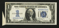 Error Notes:Attached Tabs, Fr. 1606 $1 1934 Silver Certificate. Crisp Uncirculated.. ...
