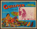 "Movie Posters:Animated, Gulliver's Travels (Paramount, R-1950s). Mexican Lobby Card (13"" X16.5""). Animated.. ..."