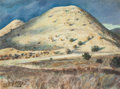 Texas:Early Texas Art - Regionalists, PETER HURD (American, 1904-1984). Mountain Landscape.Watercolor on paper. 9 x 12 inches (22.9 x 30.5 cm). Signed lower...