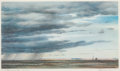 Texas:Early Texas Art - Regionalists, PETER HURD (American, 1904-1984). A Shower in the Prairie.Print. Image: 8 x 13-1/2 inches (20.3 x 34.3 cm). Paper: 8-1/...