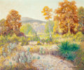 Texas:Early Texas Art - Regionalists, PETER LANZ HOHNSTEDT (American, 1872-1957). Untitled(Landscape). Oil on canvas. 25 x 30 inches (63.5 x 76.2 cm).Signed...