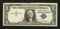 Error Notes:Foldovers, Fr. 1619 $1 1957 Silver Certificate. Very Fine.. ...