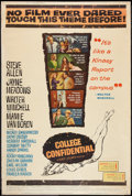 "Movie Posters:Drama, College Confidential (Universal, 1960). Poster (40"" X 60""). Drama.. ..."