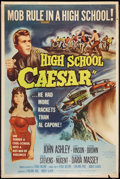 "Movie Posters:Exploitation, High School Caesar (Film Group, 1960). Poster (40"" X 60"").Exploitation.. ..."