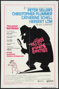 "Movie Posters:Comedy, The Return of the Pink Panther (United Artists, 1975). One Sheet(27"" X 41""). Comedy.. ..."