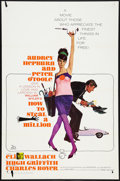 "Movie Posters:Crime, How to Steal a Million Lot (20th Century Fox, 1966). One Sheets (2)(27"" X 41""). Crime.. ... (Total: 2 Items)"