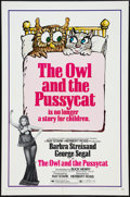 "Movie Posters:Comedy, The Owl and the Pussycat (Columbia, 1970). One Sheet (27"" X 41""). Comedy.. ..."