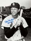 """Baseball Collectibles:Photos, Stan Musial """"The Man"""" Signed Oversized Photograph...."""
