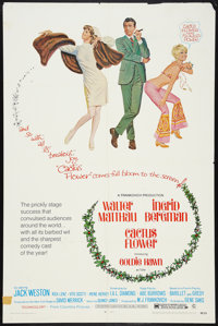 """Cactus Flower Lot (Columbia, 1969). One Sheets (2) (27"""" X 41""""). Comedy. ... (Total: 2 Items)"""