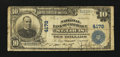 National Bank Notes:Missouri, Saint Louis, MO - $10 1902 Plain Back Fr. 627 The NB of CommerceCh. # 4178. ...