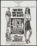 """Movie Posters:Exploitation, High Yellow Lot (Thunder Pictures, 1965). 22"""" X 28"""" Poster and One Sheet (27"""" X 41""""). Exploitation.. ... (Total: 2 Items)"""