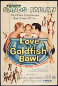 """Movie Posters:Musical, Love in a Goldfish Bowl (Paramount, 1961). Poster (40"""" X 60""""). Musical.. ..."""