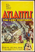 "Movie Posters:Adventure, Atlantis, the Lost Continent (MGM, 1961). Poster (40"" X 60"").Adventure.. ..."