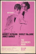 "Movie Posters:Drama, The Children's Hour (United Artists, 1962). Poster (40"" X 60"").Drama.. ..."