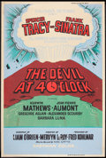 "Movie Posters:Adventure, The Devil at 4 O'Clock (Columbia, 1961). Poster (40"" X 60"").Adventure.. ..."