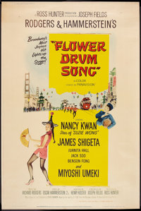 "Flower Drum Song (Universal, 1961). Poster (40"" X 60"") Style Y. Musical"