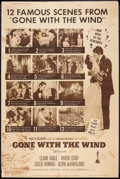 """Movie Posters:Academy Award Winners, Gone with the Wind (MGM, R-1961). Poster (40"""" X 60""""). Academy Award Winners.. ..."""
