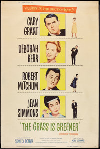 """The Grass is Greener (Universal International, 1960). Poster (40"""" X 60"""") Style Y. Romance"""