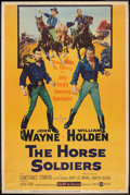 "Movie Posters:Western, The Horse Soldiers (United Artists, 1959). Poster (40"" X 60"") StyleY. Western.. ..."