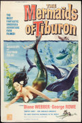 "Movie Posters:Fantasy, The Mermaids of Tiburon (Film Group, 1962). Poster (40"" X 60"").Fantasy.. ..."