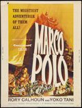 "Movie Posters:Adventure, Marco Polo (American International, 1962). Poster (30"" X 40"").Adventure.. ..."