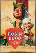 "Movie Posters:Swashbuckler, The Adventures of Robin Hood (Turner Entertainment, R-2003). OneSheet (27"" X 41""). Swashbuckler.. ..."