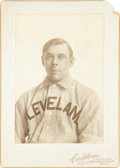 Baseball Collectibles:Photos, 1900-1910 Heinie Berger Cabinet Photograph by Carl Horner....
