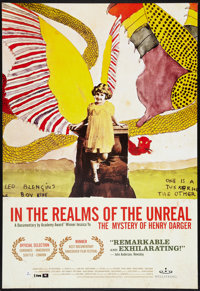 """In the Realms of the Unreal Lot (Wellspring, 2004). One Sheets (2) (27"""" X 41""""). Documentary. ... (Total: 2 Ite..."""
