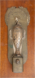 Miscellaneous Collectibles:General, 1948 Borg-Warner Trophy Presented to Mauri Rose for Indianapolis500 Victory....